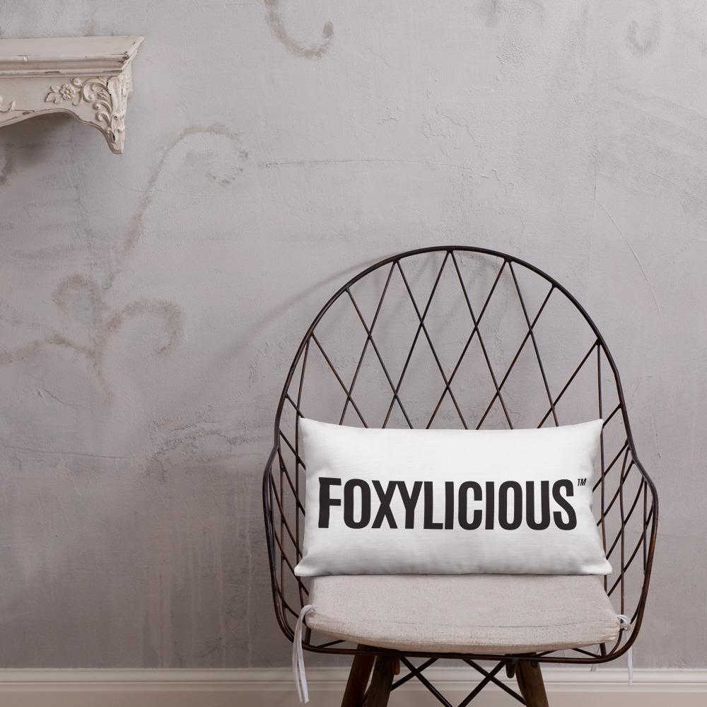 Foxy Tea® FOXYLICIOUS™ Premium Pillow