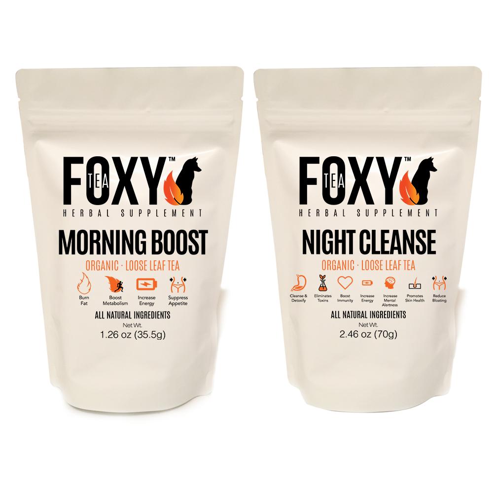 Foxy Tea® Detox & Cleanse Set