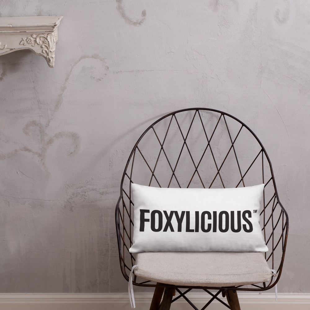 Foxy Tea® FOXYLICIOUS™ Premium Pillow