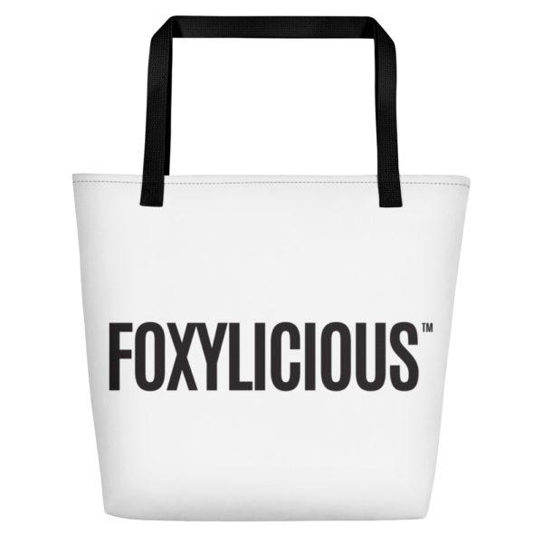 Foxy Tea® FOXYLICIOUS™ Beach Bag